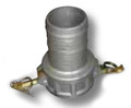 """Aluminum Cam and Groove Fittings   PART C   4"""""""