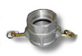 """Aluminum Cam and Groove Fittings   PART D   6"""""""