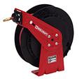 "Reelcraft Hose Reel | Spring Retractable Air Hose Reel / Water Hose Reel | SERIES RT - 1/2"" | 50 ft. w/ 1/2 inch hose"