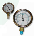 "2.5"" Liquid Filled Vacuum Pressure Gauge"