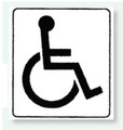 Restroom Decals | Disabled