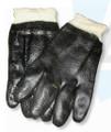 Knit Wrist Semi-Rough Finish Work Glove