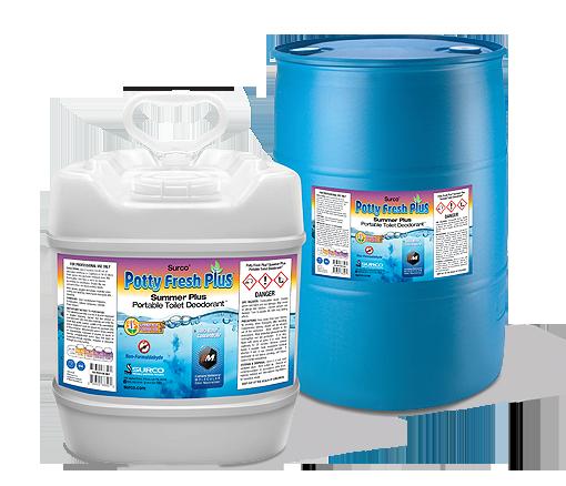 Toilet Odor Control : Portable toilet deodorant gallon pail concentrate