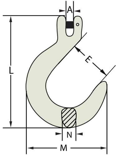 Clevis Foundary Hook