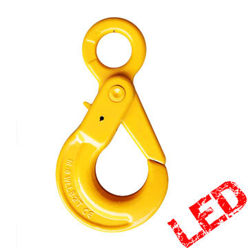G80 Eye Type Safety Hook, Self Locking Hook