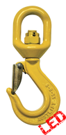 G80 Swivel Sling Hook with Safety Catch