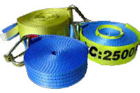 Replacement Winch Strap 50mm x9m LC2500kg