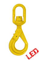 16mm G80 Swivel Self Locking Hook