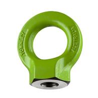 M10 Grade-8  Hi-Tensile Eye Nut: WLL: 1.0 Tonne