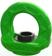 M12 Grade 100 Swivel Eye Nut - WLL: 2.0 Tonne