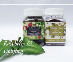 Certified Organic Raspberry and Certified Organic Uplifting Tea Gift Pack