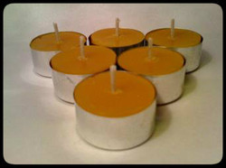 Pure Beeswax tealights