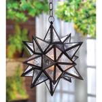 Moroccan Hanging Star Lantern