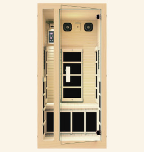 Silver 1 Person Far Infrared Sauna