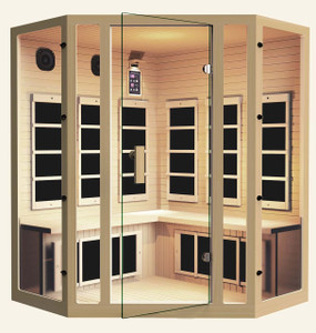 Silver Corner Far Infrared Sauna
