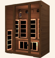 Gold 3 Person Far Infrared Sauna