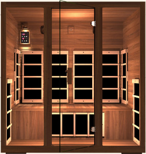 Gold 4 Person Far Infrared Sauna