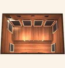 Gold 4 Person Far Infrared Sauna