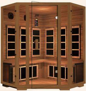 Gold Corner Infrared Sauna
