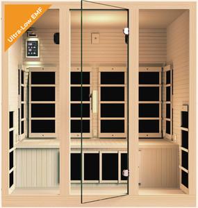 Ensi™ 4 Person Ultra-Low-EMF Far Infrared Sauna