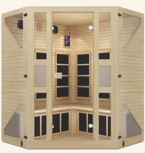 Ensi™ Corner Ultra-Low-EMF Far Infrared Sauna