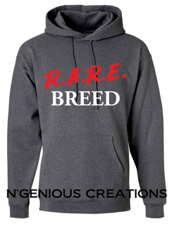 RARE BREED HOODED SWEATSHIRT (HOODIE)