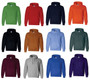 Green, Red, Navy Blue, Orange, Black, Texas Orange, Carolina Blue, Forest Green, Maroon, Sport Grey, Royal Blue, and Purple
