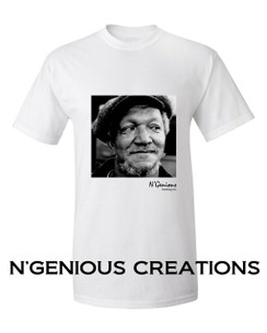 N'GENIOUS CREATIONS EXCLUSIVE ICON SERIES TSHIRT- REDD FOXX