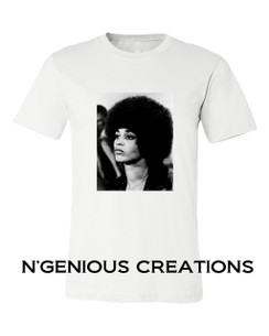 BLACK ICON SERIES: ANGELA DAVIS TSHIRT