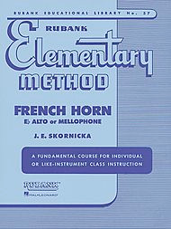 Rubank Elementary Method Book 1 for French Horn