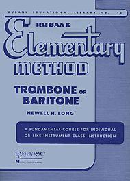 Rubank Elementary Method Book 1 for Trombone / Baritone Horn
