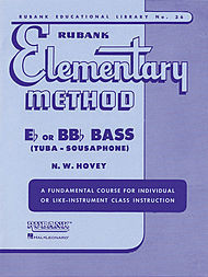 Rubank Elementary Method Book 1 for Tuba