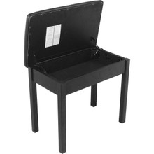 On-Stage Flip-Top Bench (Black)