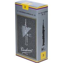 Vandoren V-12 Soprano Saxophone Reeds (10-pack)
