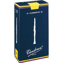 Vandoren Traditional Bb Clarinet Reeds (10-pack)