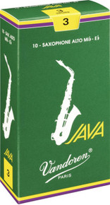Vandoren Java Alto Saxophone Reeds (10-pack)