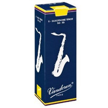Vandoren Traditional Tenor Saxophone Reeds (5-pack)