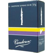 Vandoren Traditional Soprano Saxophone Reeds (10-pack)