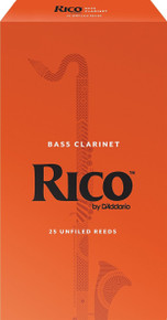 Rico by D'Addario Bass Clarinet Reeds (25-Pack)