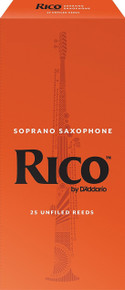 Rico by D'Addario Soprano Saxophone Reeds (25-Pack)