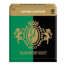 Rico Grand Concert Select Soprano Saxophone Reeds (10-Pack)