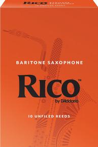 Rico by D'Addario Baritone Saxophone Reeds (10-Pack)