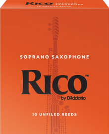 Rico by D'Addario Soprano Saxophone Reeds (10-Pack)