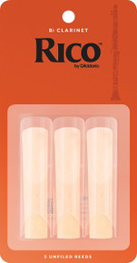 Rico by D'Addario Bb Clarinet Reeds (3-Pack)