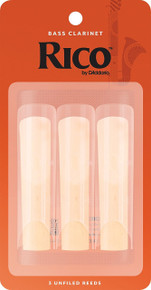 Rico by D'Addario Bass Clarinet Reeds (3-Pack)