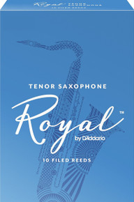 Rico Royal Tenor Saxophone Reeds (10-Pack)
