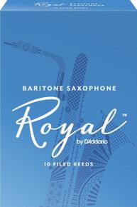 Rico Royal Baritone Saxophone Reeds (10-Pack)