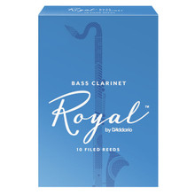 Rico Royal Bass Clarinet Reeds (10-Pack)