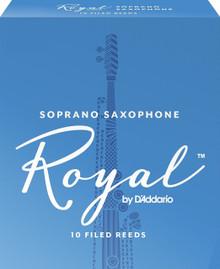 Rico Royal Soprano Saxophone Reeds (10-Pack)
