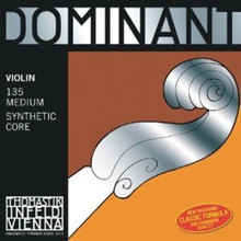 Thomastik-Infeld Dominant 135MS Violin Strings, Medium, Synthetic Core